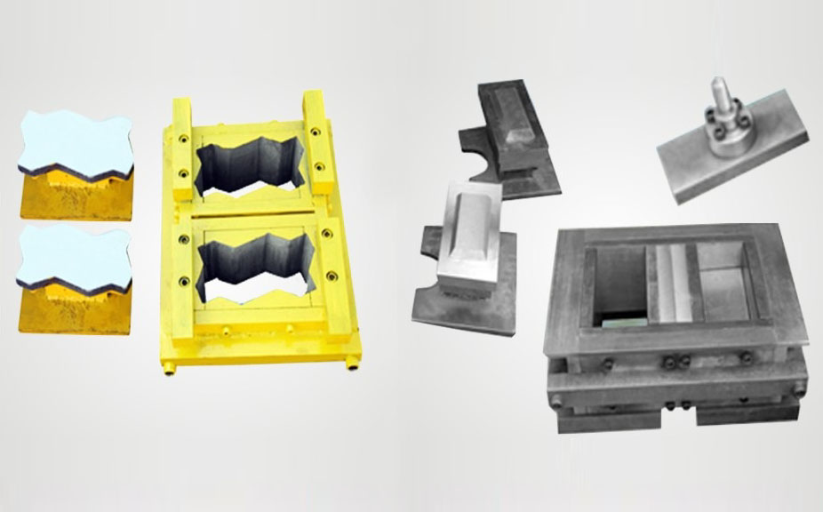 manufacturers of Bricks Machines in India,Paver Block / Fly Ash Bricks Mould