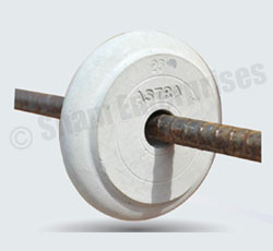 manufacturers of Concrete Spacers and Cover Blocks in India,Circular Spacers