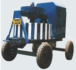 Roller Pan Mixer (Pan Type)