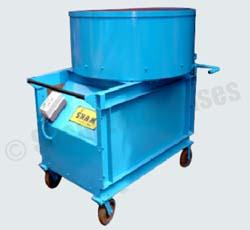 Pan Mixer with Gear Box